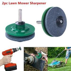 2x-Universal-Lawn-Mower-Faster-Blade-Sharpener-Grinder-Garden-Tools-Rotary-Drill
