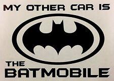 Batman Divertido Jdm Deriva Pegatina De Coche Furgoneta Ventana VW Ford postura de vinilo en las BMW