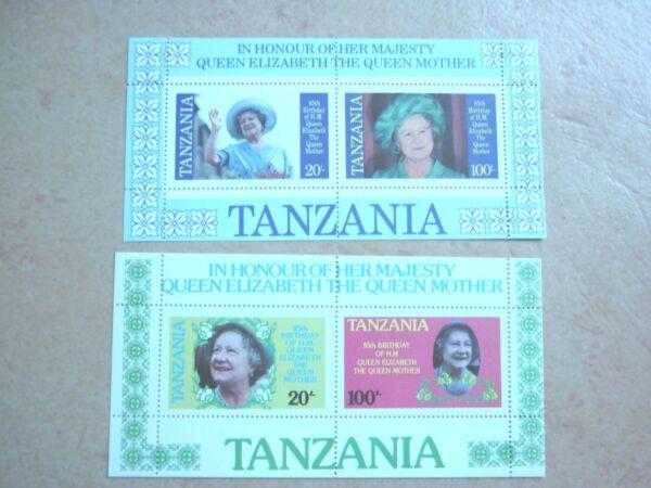 Amical Tanzanie Bloc 42 Et 43 ** 85. Dép Elisabeth