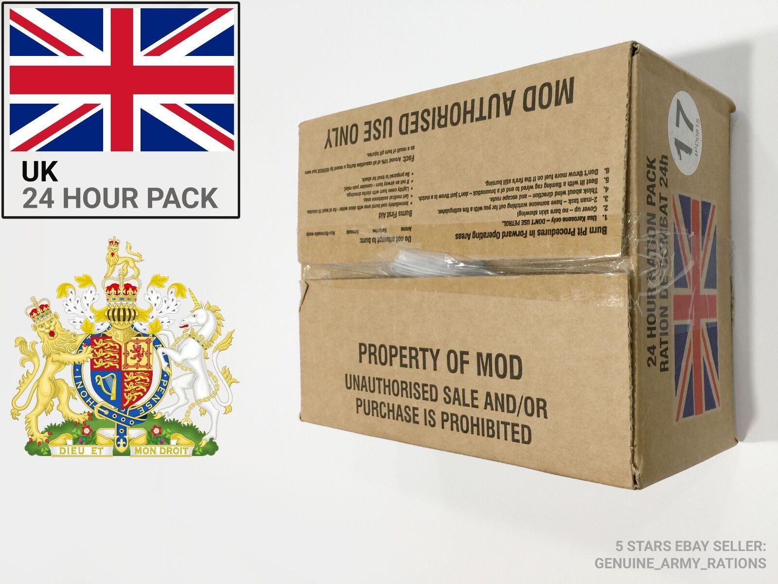 United Kingdom Military ration Box. militaire ration - 24 24 24 h - (British MRE) d6898d