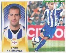 05 LOPO GARCIA ESPANA RC.DEPORTIVO STICKER ESTE LIGA 2010 PANINI