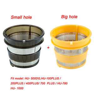 Hurom-Slow-Juicer-Spare-Part-Filter-Small-amp-big-Hole-HU-500DG-HU-780-HU-100PLUS