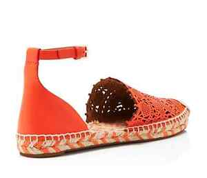 1a266b1f705d Image is loading Tory-Burch-Roselle-Ankle-Strap-Espadrille-Flats