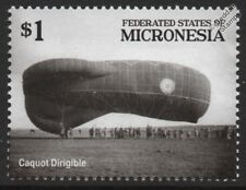 WWI CAQUOT Type Observation Dirigible Airship / Blimp Stamp