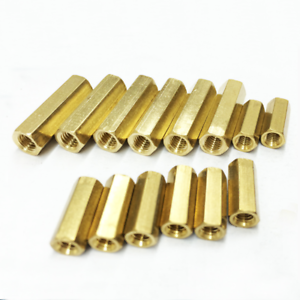 50pcs-M2-Female-Hex-Screw-Brass-PCB-Standoffs-Hexagonal-Spacers