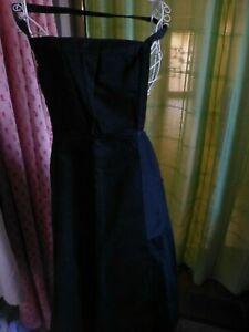 noir-tres-ancien-tablier-femme-2poches-t-b-etat-vetement-d-epoque-1900-1920