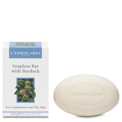 Popular Brand L'erbolario Soapless Bar For Combination&oily Skin With Burdock 100g Bath & Body Health & Beauty