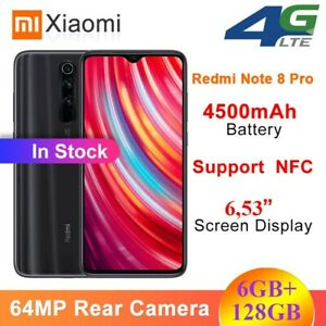 Xiaomi-Redmi-Note-8-Pro-6-53-Zoll-Helio-G90T-Octa-64MP-Quad-Kamera-4G-Smartphone