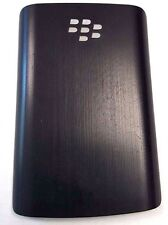 BlackBerry 9100 9105 Standard Battery Door Black Plastic Back Replacement OEM