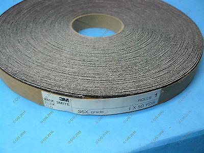 "3M Utility Cloth Roll  1/"" 36 Grit X WT 241D Aluminum Oxide 50 Yd Roll"