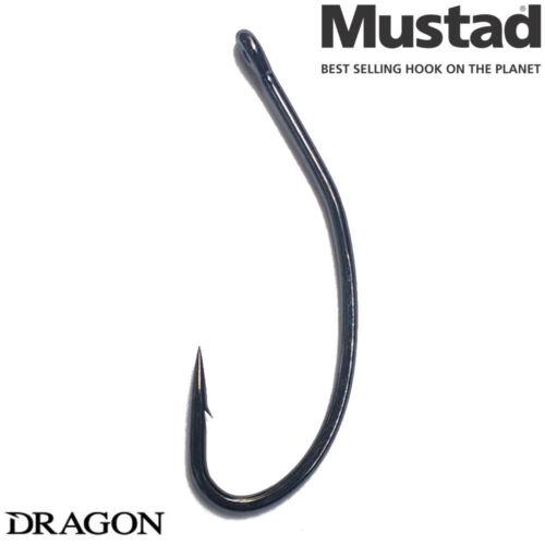 Mustad Carp Fishing Hooks 10pcs Eyed Great Boilies or Bait PRESENTATION Barbel