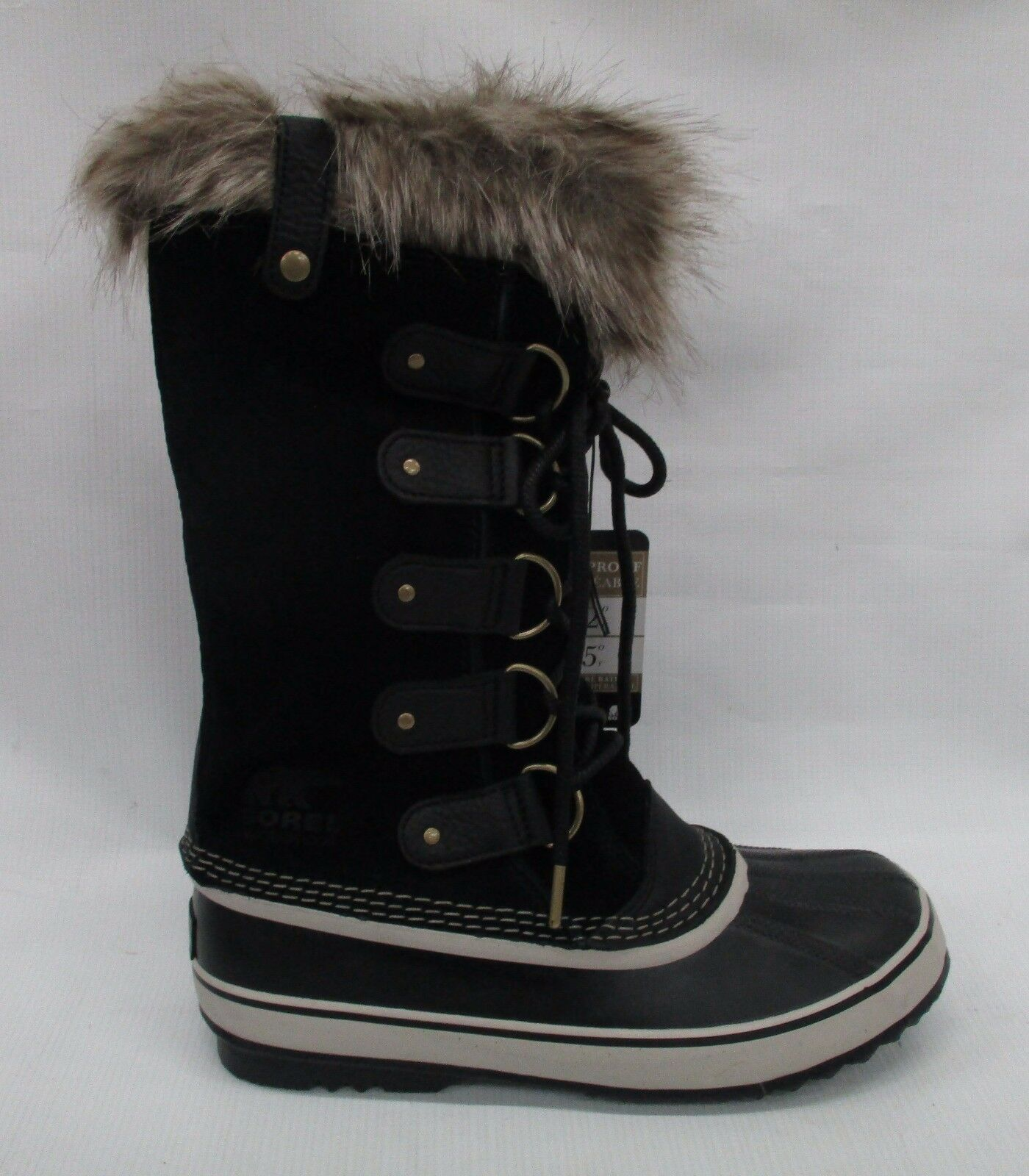 Sorel Womens Joan of Arctic Boots 1708791 Black/Stone Size 6