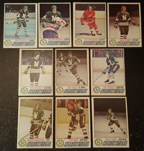 1977-78-OPC-MINNESOTA-NORTH-STARS-Select-from-LIST-NHL-HOCKEY-CARDS-O-PEE-CHEE