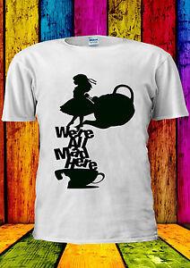 Disney-Alice-au-pays-des-merveilles-the-mad-T-shirt-Gilet-Debardeur-Hommes-Femmes-Unisexe-375