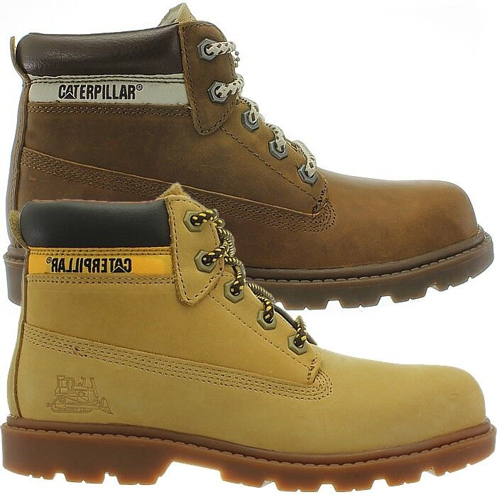 Caterpillar colorado beige   brown Kid's   Women's Leather Boots Winter NEW