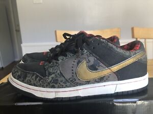 timeless design f8ed9 9c928 Details about Nike Dunk Low Premium SB Size 11 SBTG Sabotage 313170-201  Friends Family