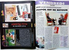 1996: MICHEL POLNAREFF_LES GUIGNOLS DE L'INFO_CHUCK NORRIS_I MUVRINI_GARY COOPER