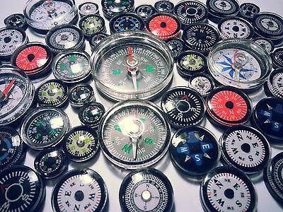 5 Piece Mixed Compass Compas Brujula Compass Bussola COMPASSO 1,2-4cm
