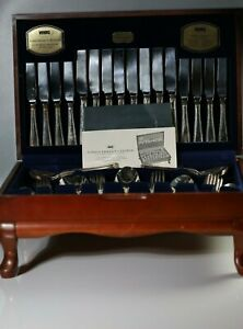Viners-Guild-Silver-Plated-Tradition-Bead-58-Piece-Canteen-For-8-Persons-cutlery