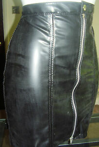 THE FEDERATION RUBBER SKATNG SKIRT  ALL SIZES MADE