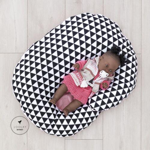 Stillkissen Babykokon 2in1 Baumwolle// MINKY Nestchen Kokon Babynestchen LOOLAY