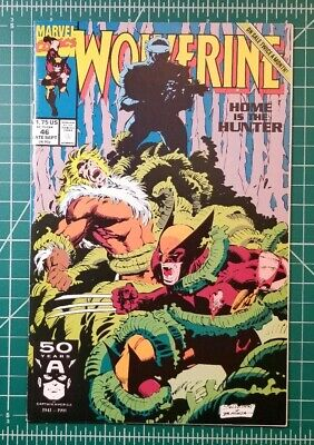 Wolverine #46 ~ NEAR MINT NM ~ 1991, Marvel Comics