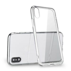 """For Apple iPhone XS Max Case 6.5"""" Silicone Clear Bumper Gel iPhone 10S Max Cover 700355485711"""