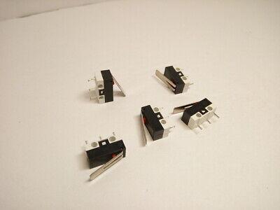 5X Pack Lot 7mm 6 Pins Mini Push Clicker Button Power Switch Self Locking PC A+