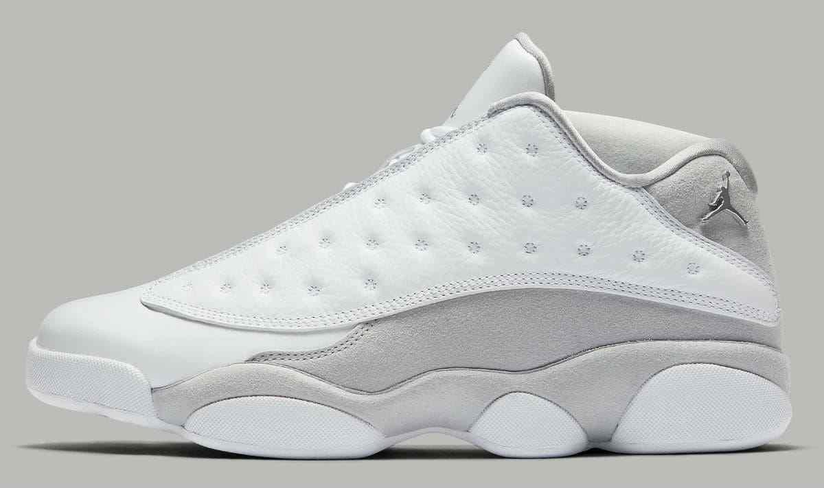 Air Jordan XIII de platino gris.310810-100. puro tamaño 13. Blanco gris.310810-100. platino 1296b3