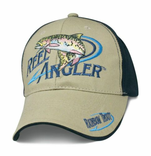 Angler Cap Kappe Mütze Fishing Angeln Mütze Fischen Regenbogen Forelle