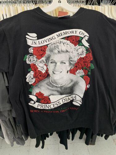 vintage princess diana shirt 90s rap Tee