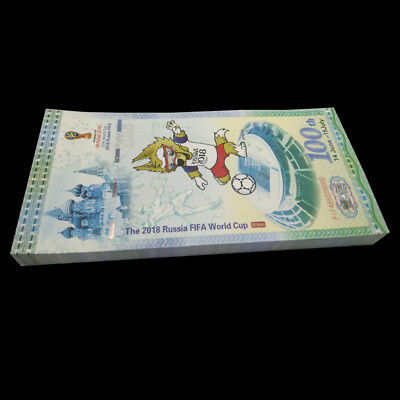 Russia FIFA World Cup Test Banknote 2018 Uncirculated  Asia