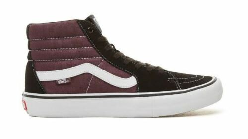46 Black zapatos hi 41 de Talla Vans altos skate Sk8 Raisn Pro W6t048