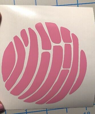 Concha Pan Dulce Mexican Sweet Bread Treat Latina Vinyl Decal You Pick Color Ebay