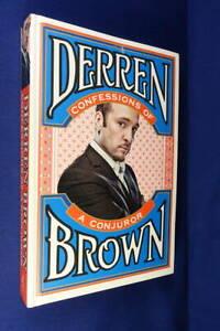 CONFESSIONS OF A CONJUROR Derren Brown BOOK Magic Magician Illusionist Biog HC