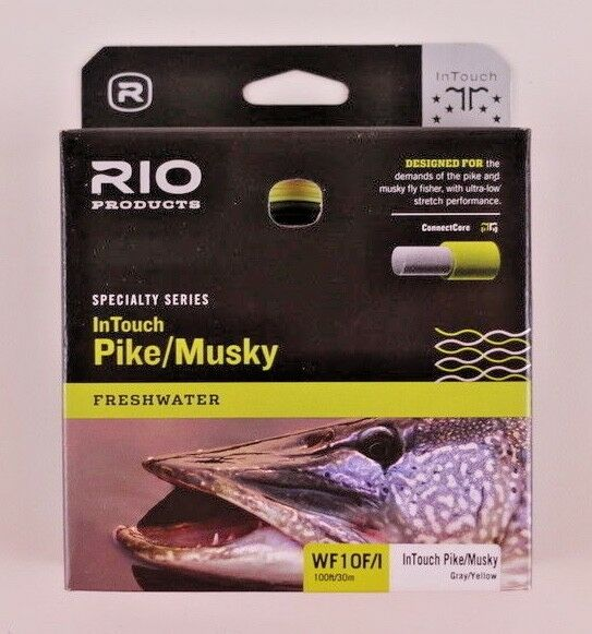 Rio InTouch Pike Musky Fly Line WF10I Free Fast Shipping 6-21038