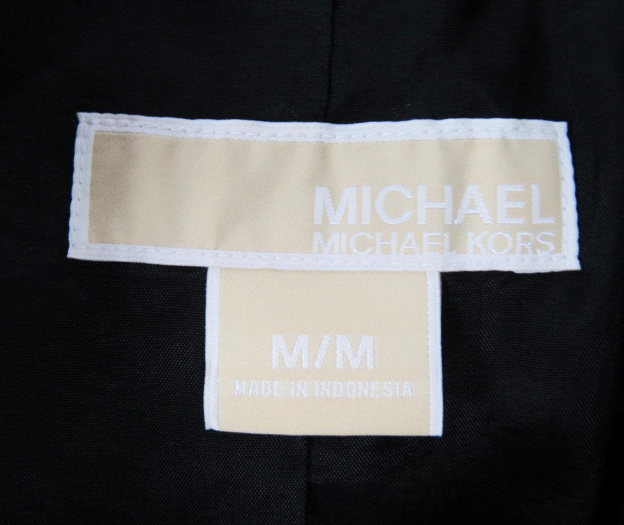 Michael Kors,Neuwertig,Damen,Jacke,34 Arm,SchwarzWeiß,M