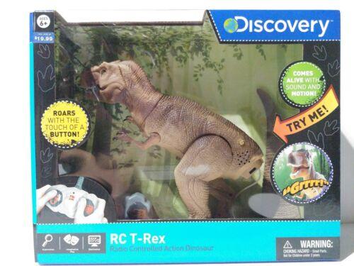 Discovery Kids Radio Control T Rex radio contrôlée Action Dinosaure marron nouveau SG 2-15