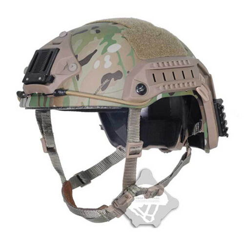 FMA TB829 Airsoft Paintball Camo Predective Helmet Tactical Maritime Multicam
