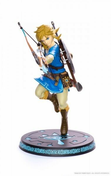 The Legend of Zelda Breath of The Wild Statuette Link Figürchen F4F 25cm 620830