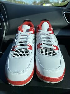 Details about Air Jordan 4 Retro Fire Red 2020 Size 4 Ds Og Box