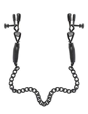 Fetish Fantasy Series Adjustable Nipple Chain Clamps Fantasy, Fetish & Accessories Health Care