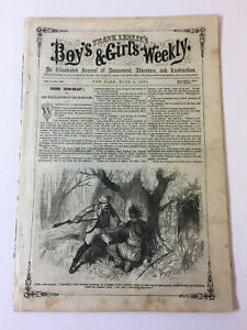 June-4-1870-FRANK-LESLIE-039-S-BOYS-amp-GIRLS-WEEKLY-White-Queen-Of-The-Mohicans