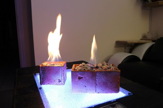 Bio Ethanol Fireplace Vico2 Indoor Outdoor Portable Table Top Home Fire Burner For Sale Ebay