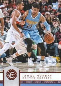 2016-17-Panini-Excalibur-Basketball-45-Jamal-Murray-RC-Denver-Nuggets