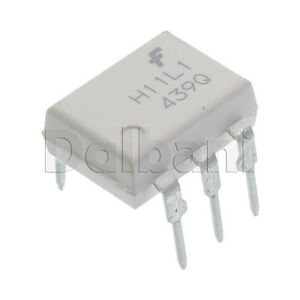H11L1M-Original-New-Fairchild-1-Ch-Output-Optocoupler-6-Pin-DIP6-H11L1-1-Mbps