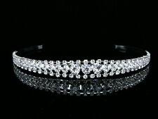 Bridal Rhinestones Crystal Prom Wedding Headband Tiara 7106
