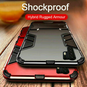 For-Huawei-P40-P30-P20-Pro-Mate-20-Lite-Shockproof-Armor-Hard-Stand-Case-Cover