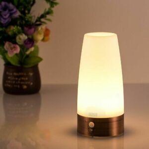 PIR-Sensore-di-movimento-Batteria-a-LED-Lampada-da-notte-in-funzione-Lampada