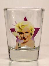 MARILYN MONROE SHOT GLASS ( purple star )